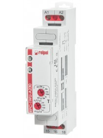 RPC-1WU-A230 - time relay, 16A, 1 Contact, 230V AC