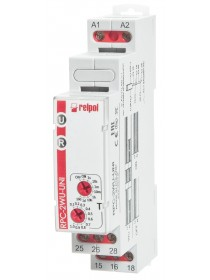 RPC-2WU-UNI - Time relay, 2 Contacts, 8 A, 12...240VAC/DC