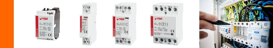 Installation contactors, contactor - distribution board construction - building services - switchgear and signaling technology